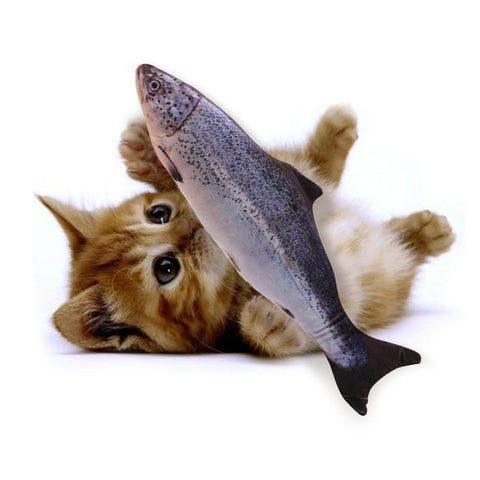 Image of Vibrating Fish Toy For Cats - 36Bucks.com
