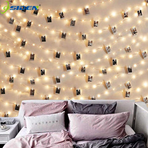 LED String Lights Photo Clip - 36Bucks.com