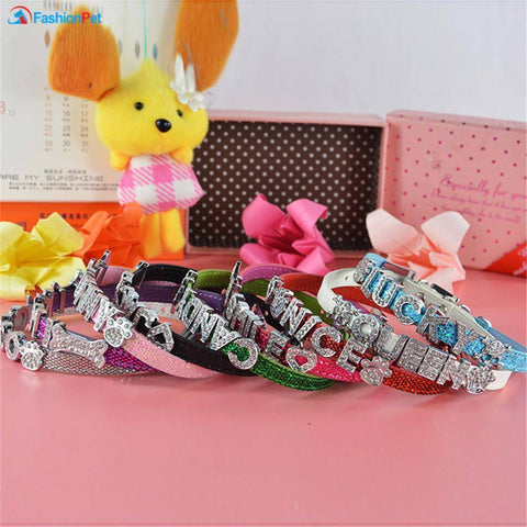 PetGlow Personalized Bling Dog Collar