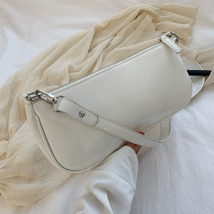 Elegant Leather Shoulder Handbag