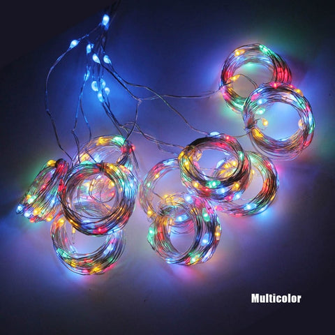 Image of LED fairy lights garland curtain remote control - 36Bucks.com