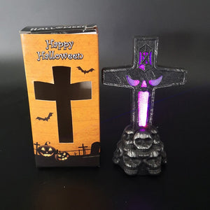 Glowing Horror Decoration Tombstone - 36Bucks.com