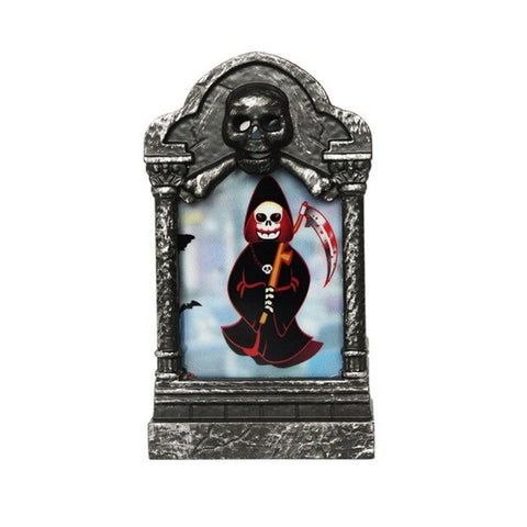 Image of Glowing Horror Decoration Tombstone - 36Bucks.com