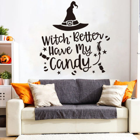 Image of Halloween Wall Sticker - 36Bucks.com