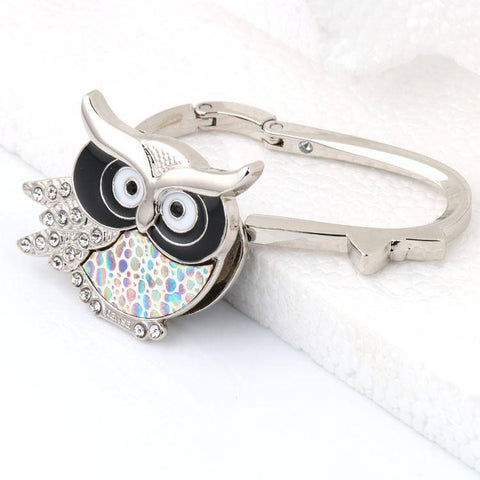 Image of Owl Handbag Hook For Tables - 36Bucks.com