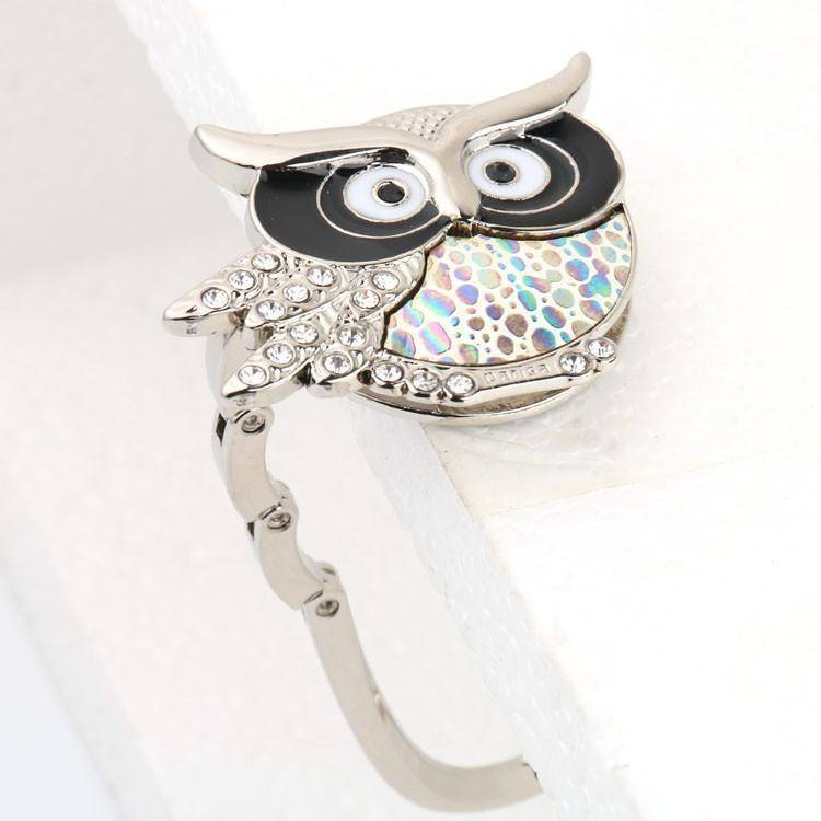 Owl Handbag Hook For Tables - 36Bucks.com