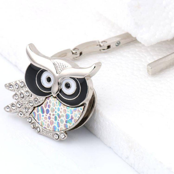 Owl Handbag Hook For Tables