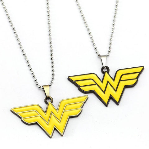 Wonder Woman Yellow Necklace