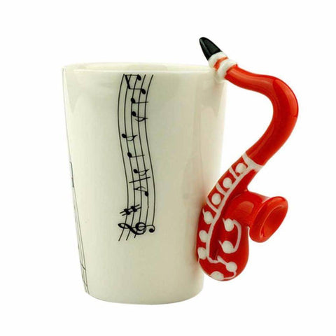 Image of Saxophone Jazz Mug - 36Bucks.com