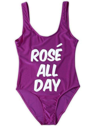 ROSÉ ALL DAY One Piece Red Swimsuit - HOTTEST Fashion Trend Of 2017! - 36Bucks.com