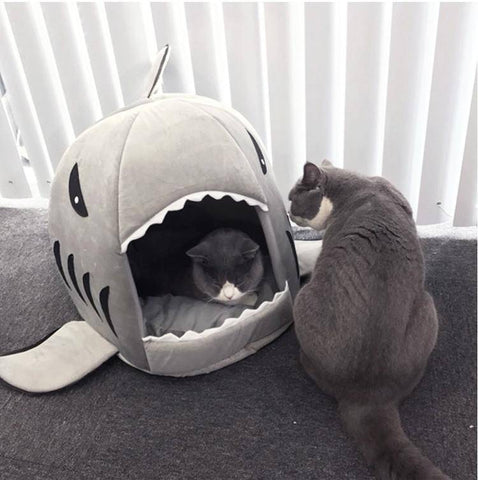 Dog Or Cat Shark Bed