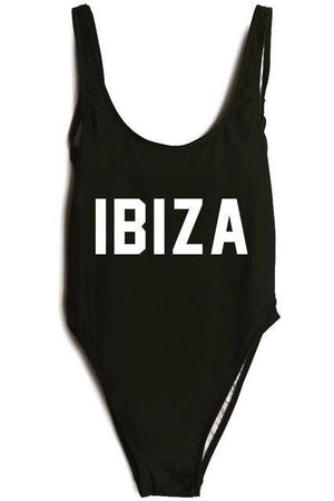 IBIZA One Piece Red Swimsuit - HOTTEST Fashion Trend Of 2017!