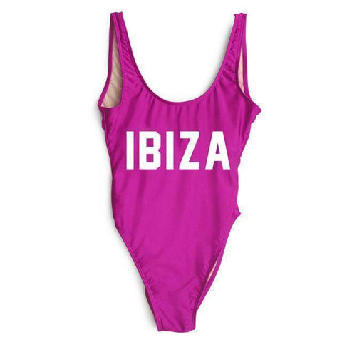 IBIZA One Piece Red Swimsuit - HOTTEST Fashion Trend Of 2017! - 36Bucks.com
