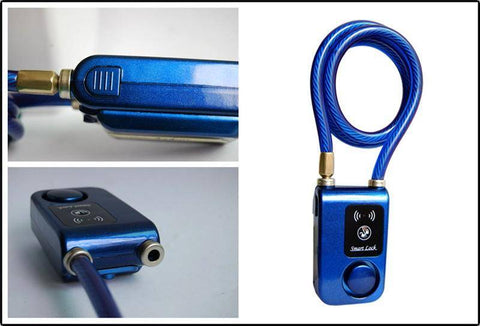 Image of (New) Bluetooth Smart Bike Lock with Built-in Alarm System