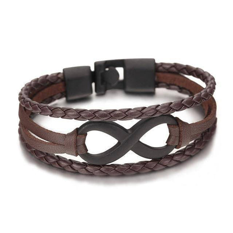 Image of Men's Infinity Bracelet - 36Bucks.com