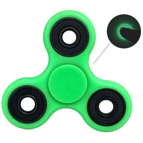 Glow In The Dark TRI Fidget Spinner - 36Bucks.com