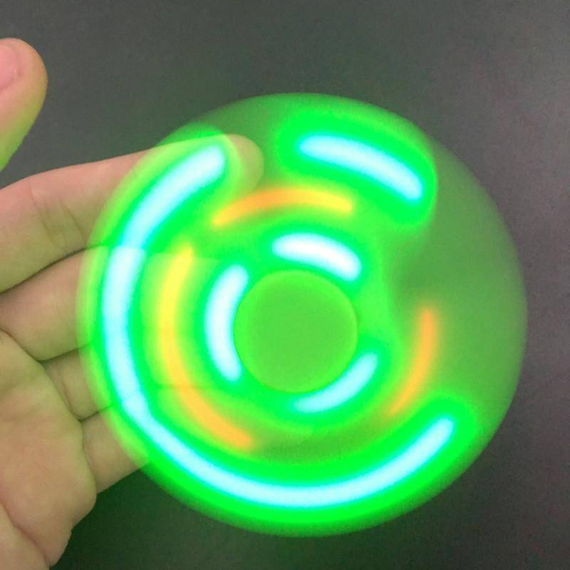 LED Fidget Spinner With Bluetooth Speaker - 36Bucks.com