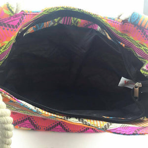 Colorful BOHO Shoulder Beach Bag