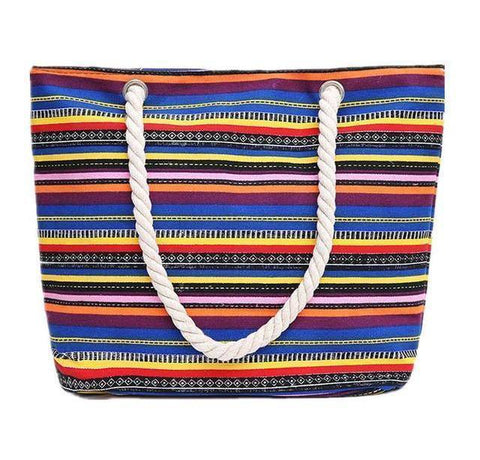 Funky Rainbow Shoulder Beach Bag - 36Bucks.com