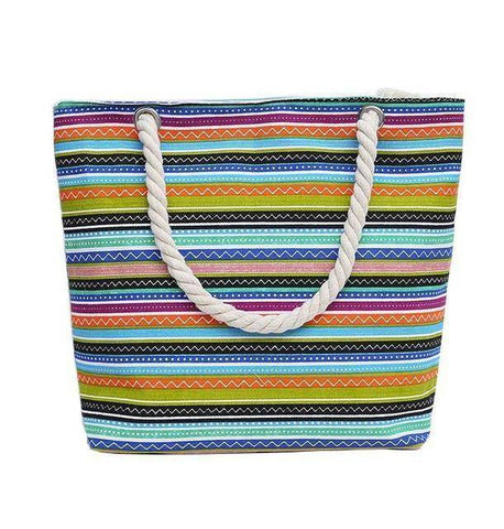 Rainbow Love Shoulder Beach Bag - 36Bucks.com