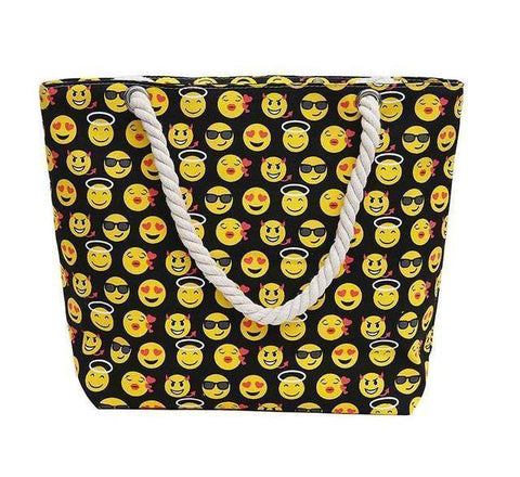 Emoji Shoulder Beach Bag - 36Bucks.com