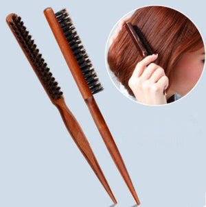Boar Bristle Hair Comb (Comb For Hair Extensions)