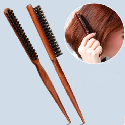 Image of Boar Bristle Hair Comb (Comb For Hair Extensions)