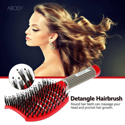 Image of Detangle Boar Bristle Hair Brush