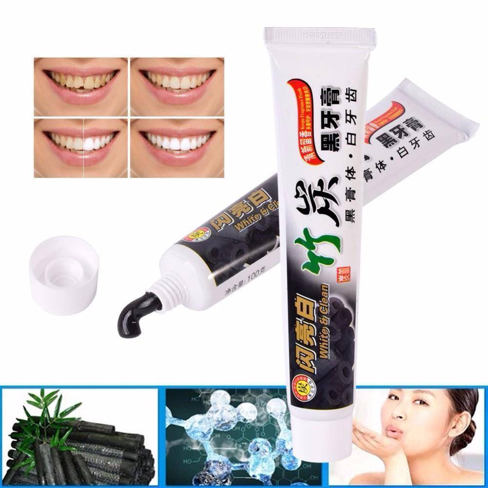 (NEW) Bamboo Charcoal Teeth Whitening Toothpaste - 36Bucks.com