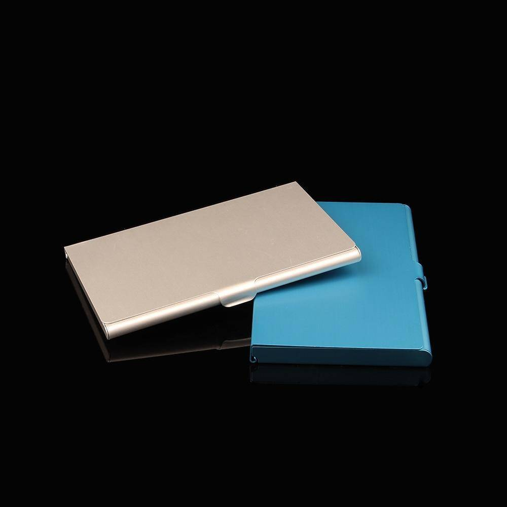 Aluminum Business & Credit Card Holder (RFID) - 36Bucks.com