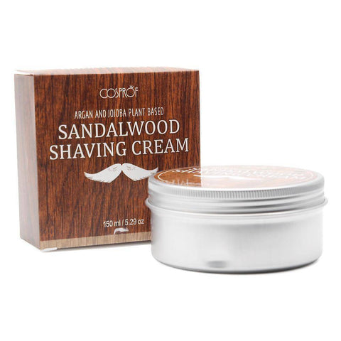 5.2oz Sandalwood Shaving Cream & Beard Shaving Brush - 36Bucks.com