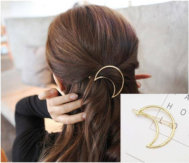 Fashionable Geometric Hair Clips