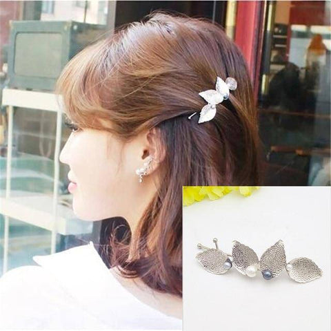 Image of Fashionable Geometric Hair Clips