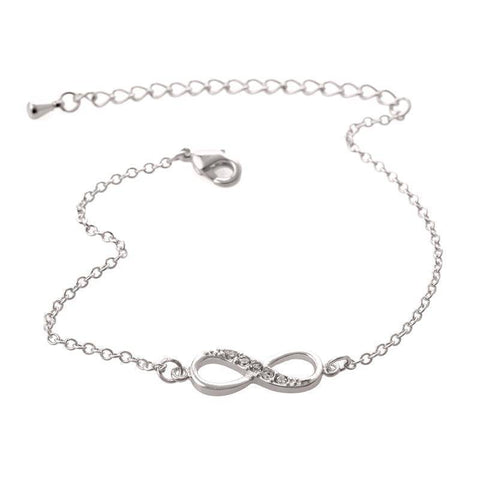 Infinity Bracelet for Women with Crystal Stones - 36Bucks.com