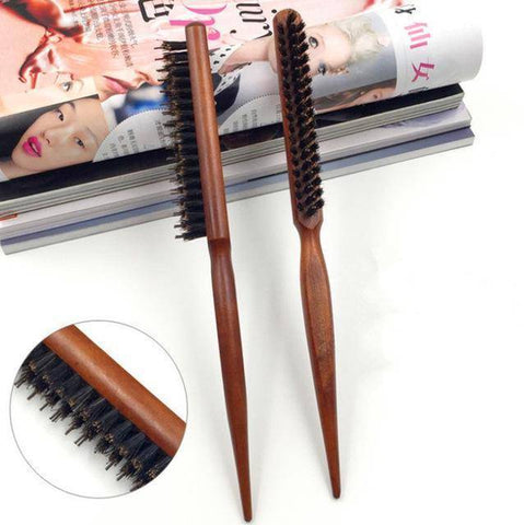 Image of Boar Bristle Hair Comb (Comb For Hair Extensions) - 36Bucks.com