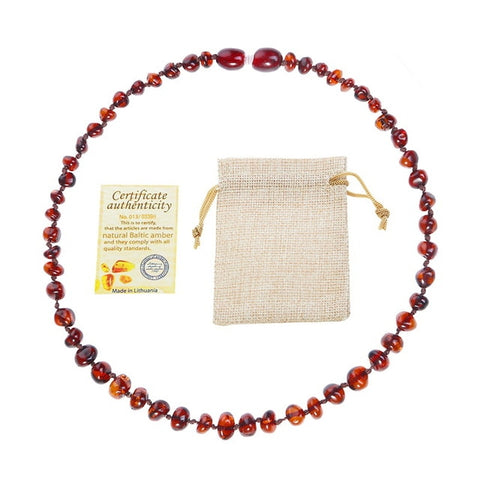 Image of Baby Amber Teething Necklace