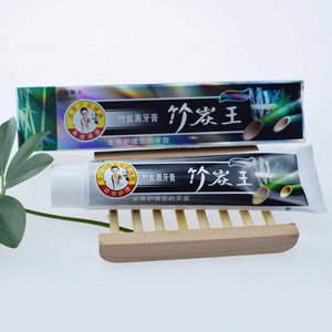 (New) Bamboo Charcoal Whitening Toothpaste