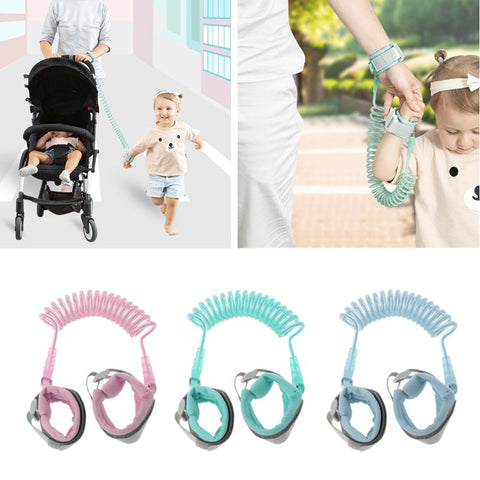 Image of 1.5M 2M 2.5M Adjustable Kids Safety Child Wrist Leash Anti-lost Link Children Belt Walking Assistant Baby Walker Wristband