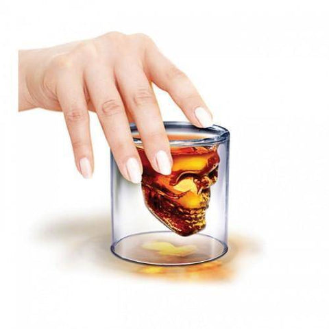 Skull Head Glass 1pc