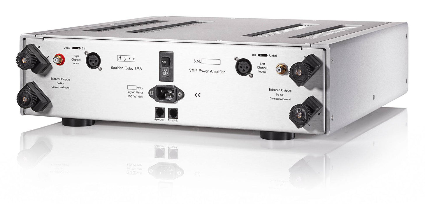 Ayre VX-5 Twenty - Audiophile Two Channel Power Amplifier - The Audio Company