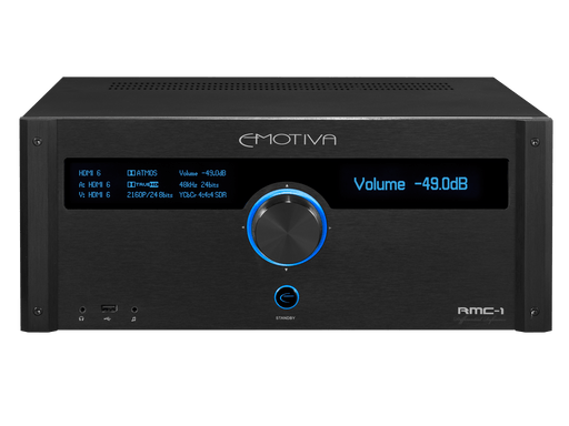 Emotiva RMC-1 - 16 Channel 9.1.6 Discrete Reference Cinema Processor - The Audio Company