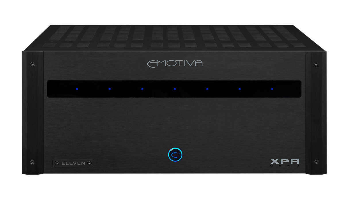 Emotiva XPA-11 Gen3 - Home Theater Eleven Channel Power Amplifier - The Audio Company