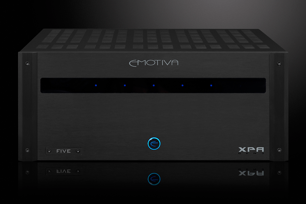 Emotiva XPA-5 Gen3 - Home Theater Five Channel Power Amplifier - The Audio Company