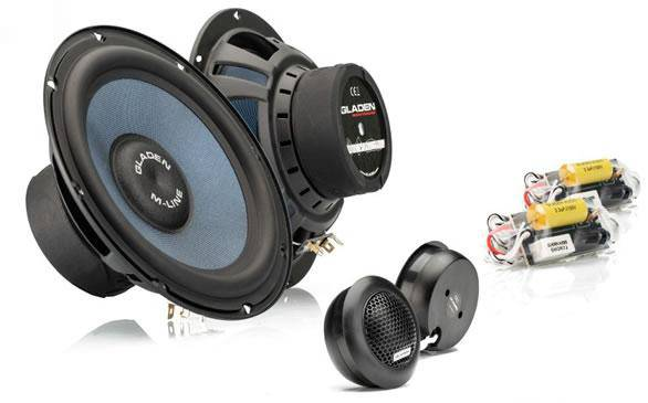 Gladen M 165 G2 - 6.5inch 2way Component Speaker Set - The Audio Company