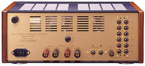 Leben CS 300X (S) - Audiophile Integrated Tube Amplifier - The Audio Company