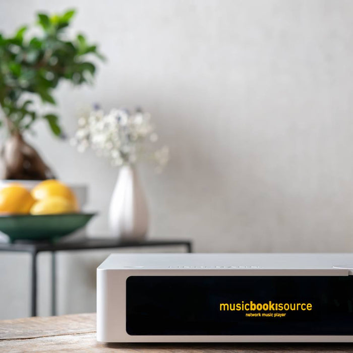 Lindemann MusicBook SOURCE - Hi-Res Network Music Streamer DAC Preamplifier - The Audio Company