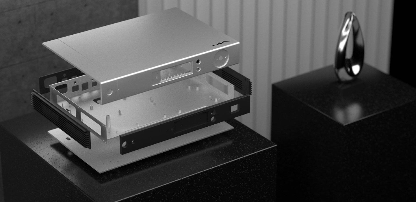 Matrix Audio Element P - Roon Ready MQA Hi-Res Streamer Amplifier - The Audio Company