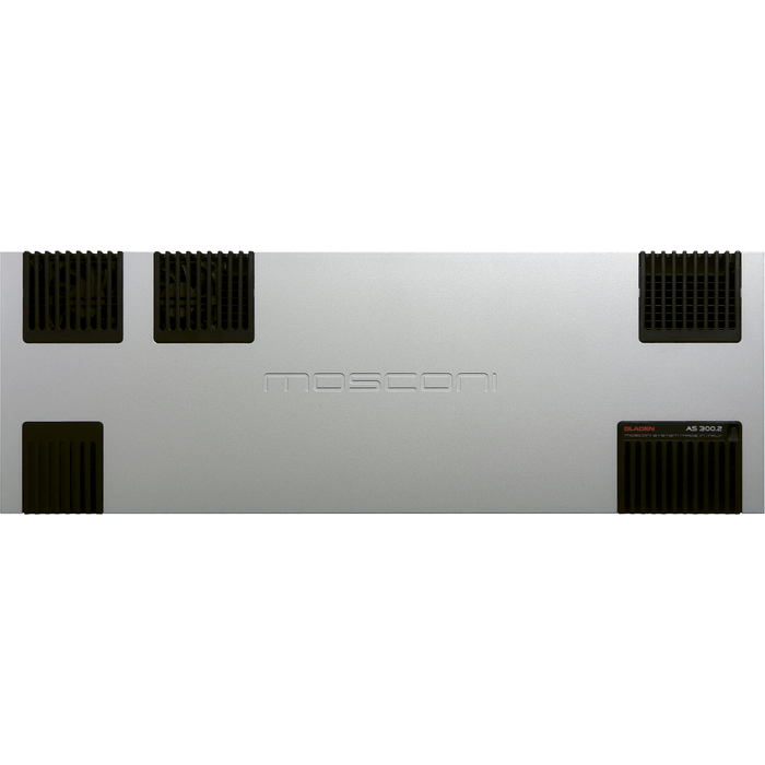 Mosconi AS 300.2 - Two Channel Amplifier - The Audio Company