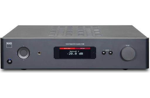 NAD C 368 - Wireless Multi-Room Hi-Res Music Streamer Amplifier - The Audio Company