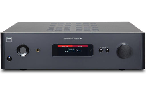 NAD C 388 - Wireless Multi-Room Hi-Res Music Streamer Amplifier - The Audio Company